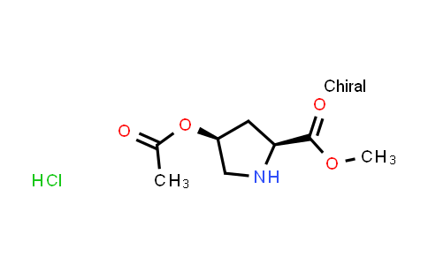 (2S,4S)-Methyl 4-acetoxypyrrolidine-2-carboxylate hydrochloride