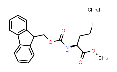 (S)-Methyl 2-((((9H-fluoren-9-yl)methoxy)carbonyl)amino)-4-iodobutanoate