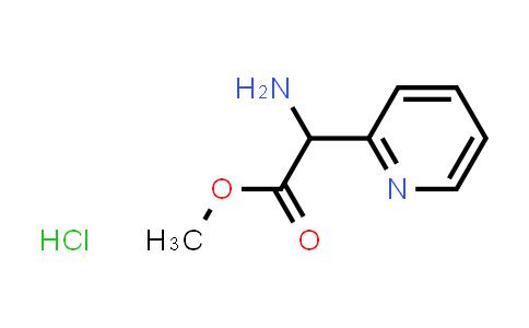 Methyl 2-amino-2-(pyridin-2-yl)acetate hydrochloride