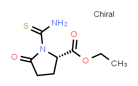 (S)-Ethyl 1-carbamothioyl-5-oxopyrrolidine-2-carboxylate