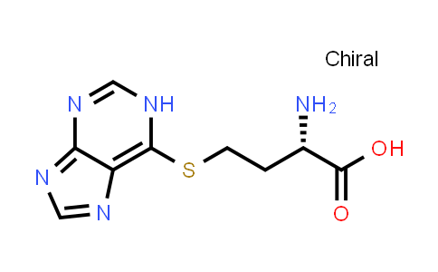 (S)-4-((1H-Purin-6-yl)thio)-2-aminobutanoic acid