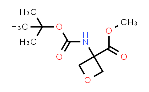 Methyl 3-((tert-butoxycarbonyl)amino)oxetane-3-carboxylate