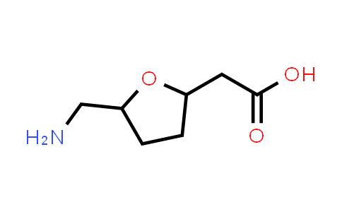 2-(5-(Aminomethyl)tetrahydrofuran-2-yl)acetic acid