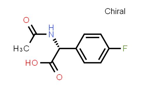 (R)-2-Acetamido-2-(4-fluorophenyl)acetic acid