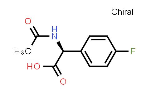 (S)-2-Acetamido-2-(4-fluorophenyl)acetic acid
