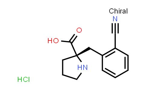 (S)-2-(2-Cyanobenzyl)pyrrolidine-2-carboxylic acid hydrochloride