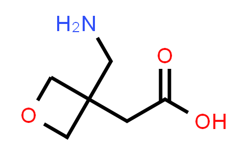 2-(3-(Aminomethyl)oxetan-3-yl)acetic acid