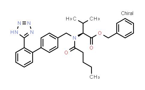 (S)-Benzyl 2-(N-((2'-(1H-tetrazol-5-yl)-[1,1'-biphenyl]-4-yl)methyl)pentanamido)-3-methylbutanoate