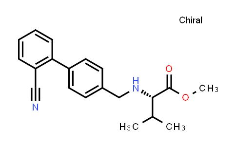 (S)-Methyl 2-(((2'-cyano-[1,1'-biphenyl]-4-yl)methyl)amino)-3-methylbutanoate