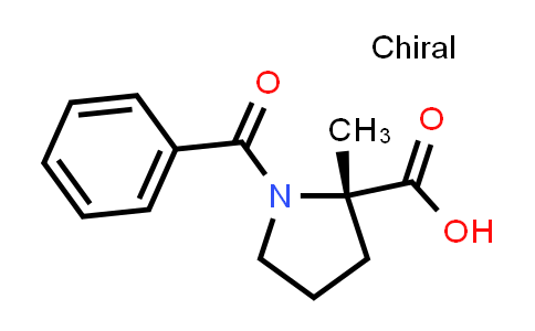 (S)-1-Benzoyl-2-methylpyrrolidine-2-carboxylic acid