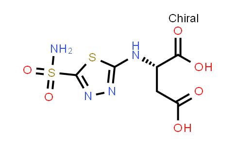 (S)-2-((5-Sulfamoyl-1,3,4-thiadiazol-2-yl)amino)succinic acid