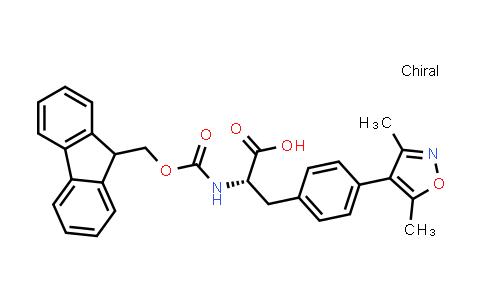 (S)-2-((((9H-Fluoren-9-yl)methoxy)carbonyl)amino)-3-(4-(3,5-dimethylisoxazol-4-yl)phenyl)propanoic acid