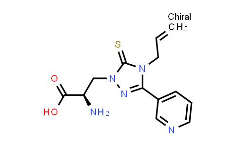 (R)-3-(4-Allyl-3-(pyridin-3-yl)-5-thioxo-4,5-dihydro-1H-1,2,4-triazol-1-yl)-2-aminopropanoic acid