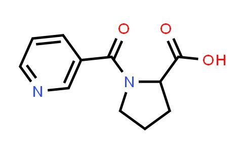 1-Nicotinoylpyrrolidine-2-carboxylic acid