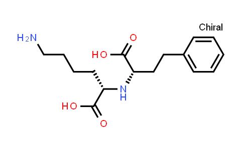 (S)-6-Amino-2-(((S)-1-carboxy-3-phenylpropyl)amino)hexanoic acid