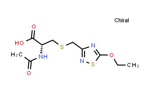 (R)-2-Acetamido-3-(((5-ethoxy-1,2,4-thiadiazol-3-yl)methyl)thio)propanoic acid