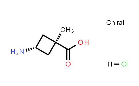 trans-3-Amino-1-methylcyclobutanecarboxylic acid hydrochloride