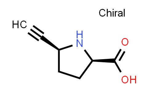 (2R,5S)-5-Ethynylpyrrolidine-2-carboxylic acid