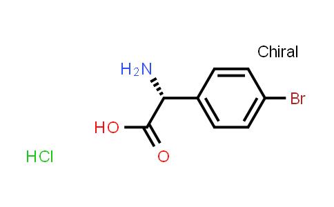 (R)-2-Amino-2-(4-bromophenyl)acetic acid hydrochloride