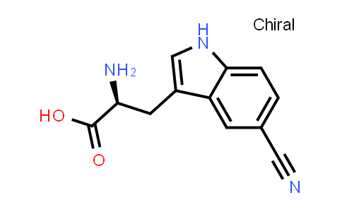 (S)-2-Amino-3-(5-cyano-1H-indol-3-yl)propanoic acid