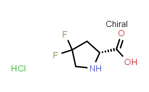 (R)-4,4-Difluoropyrrolidine-2-carboxylic acid hydrochloride