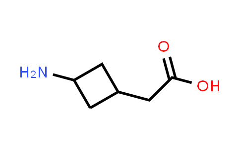 2-(3-Aminocyclobutyl)acetic acid