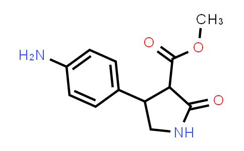 Methyl 4-(4-aminophenyl)-2-oxopyrrolidine-3-carboxylate