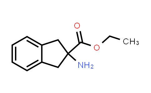 Ethyl 2-amino-2,3-dihydro-1H-indene-2-carboxylate