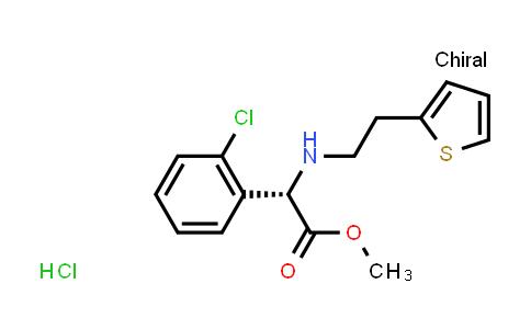 (S)-Methyl 2-(2-chlorophenyl)-2-((2-(thiophen-2-yl)ethyl)amino)acetate hydrochloride
