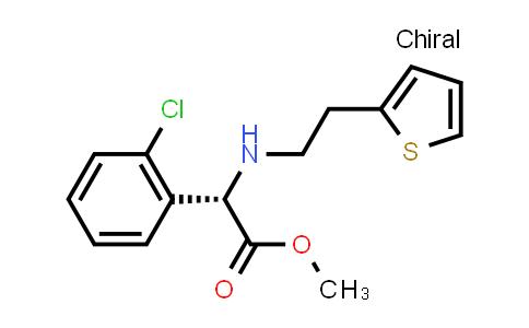 (S)-Methyl 2-(2-chlorophenyl)-2-((2-(thiophen-2-yl)ethyl)amino)acetate