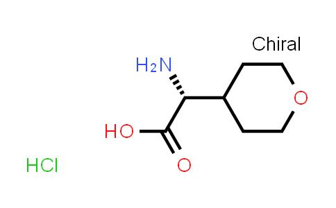 (R)-2-Amino-2-(tetrahydro-2H-pyran-4-yl)acetic acid hydrochloride