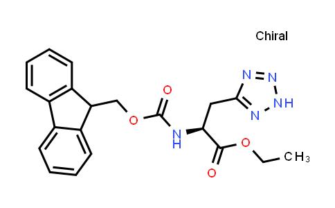 (S)-Ethyl 2-((((9H-fluoren-9-yl)methoxy)carbonyl)amino)-3-(2H-tetrazol-5-yl)propanoate