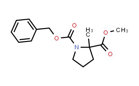 1-Benzyl 2-methyl 2-methylpyrrolidine-1,2-dicarboxylate