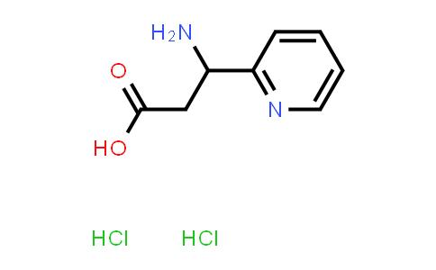 3-Amino-3-(pyridin-2-yl)propanoic acid dihydrochloride