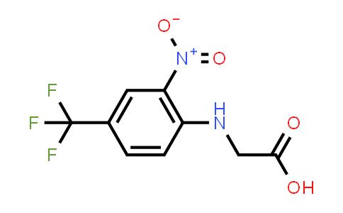 (2-Nitro-4-trifluoromethyl-phenylamino)-aceticacid