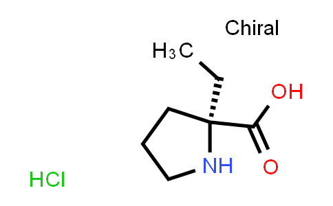 (S)-2-Ethylpyrrolidine-2-carboxylic acid hydrochloride