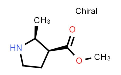(2S,3S)-Methyl 2-methylpyrrolidine-3-carboxylate