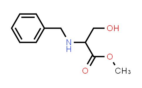 Methyl 2-(benzylamino)-3-hydroxypropanoate