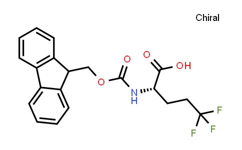 (S)-2-((((9H-Fluoren-9-yl)methoxy)carbonyl)amino)-5,5,5-trifluoropentanoic acid