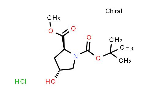 (2S,4R)-4-Hydroxy-1,2-pyrrolidinedicarboxylic acid 1-tert-butyl 2-methyl ester hydrochloride