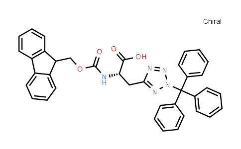 (S)-2-((((9H-Fluoren-9-yl)methoxy)carbonyl)amino)-3-(2-trityl-2H-tetrazol-5-yl)propanoic acid