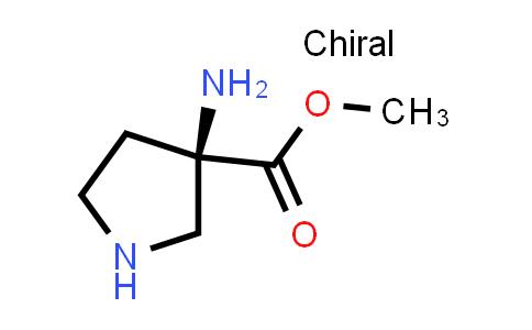 (R)-Methyl 3-aminopyrrolidine-3-carboxylate