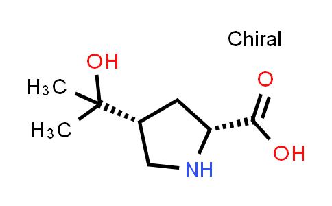 (2R,4R)-4-(2-Hydroxypropan-2-yl)pyrrolidine-2-carboxylic acid