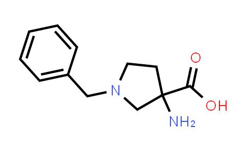 3-Amino-1-benzylpyrrolidine-3-carboxylic acid