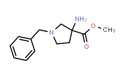 Methyl 3-amino-1-benzylpyrrolidine-3-carboxylate