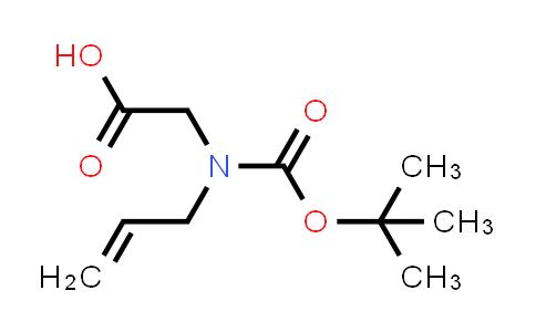 2-(Allyl(tert-butoxycarbonyl)amino)acetic acid