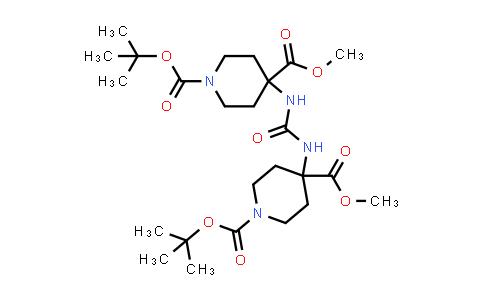 1,3-Di[n-boc-4-(methoxycarbonyl)-4-piperidyl]urea
