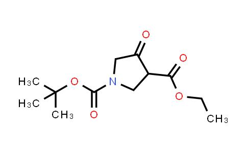 1-tert-Butyl 3-ethyl 4-oxopyrrolidine-1,3-dicarboxylate