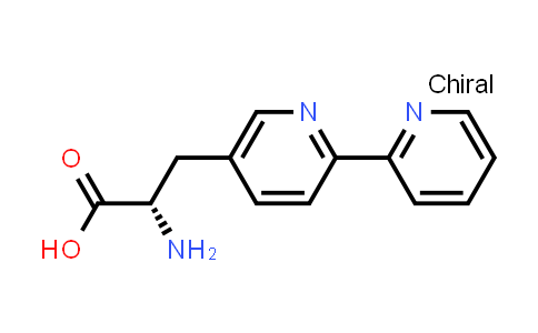(S)-3-([2,2'-Bipyridin]-5-yl)-2-aminopropanoic acid