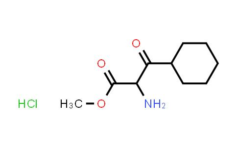 Methyl 2-amino-3-cyclohexyl-3-oxopropanoate hydrochloride